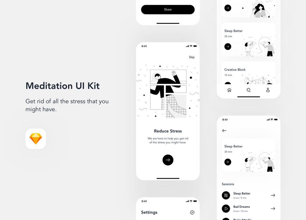 Adobe XD UI Kits, UI kits, Adobe, UI Design