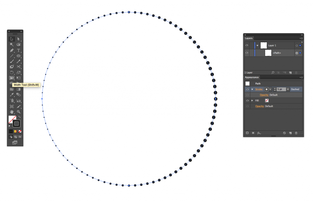 How To Make Dotted Line in Illustrator