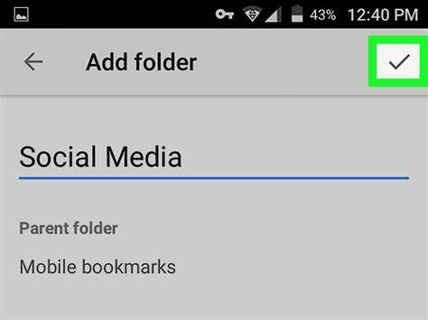 how to organize bookmarks in Chrome